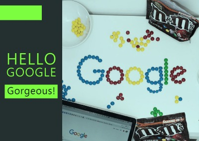 Hello Google Gorgeous!